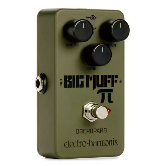Electro-Harmonix Green Russian Big Muff Pi Fuzz Distortion Sustainer
