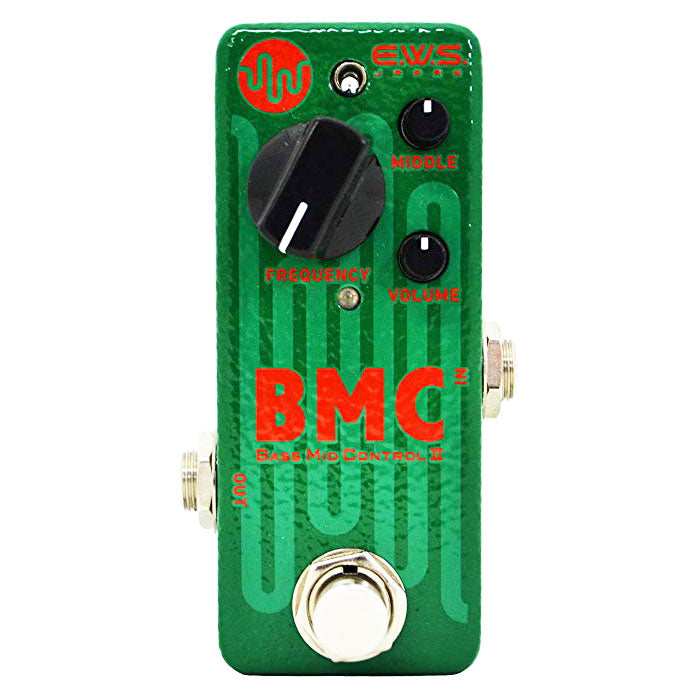 EWS BMC Bass Mid Control Compact Active Mid-Controller For Bass Players