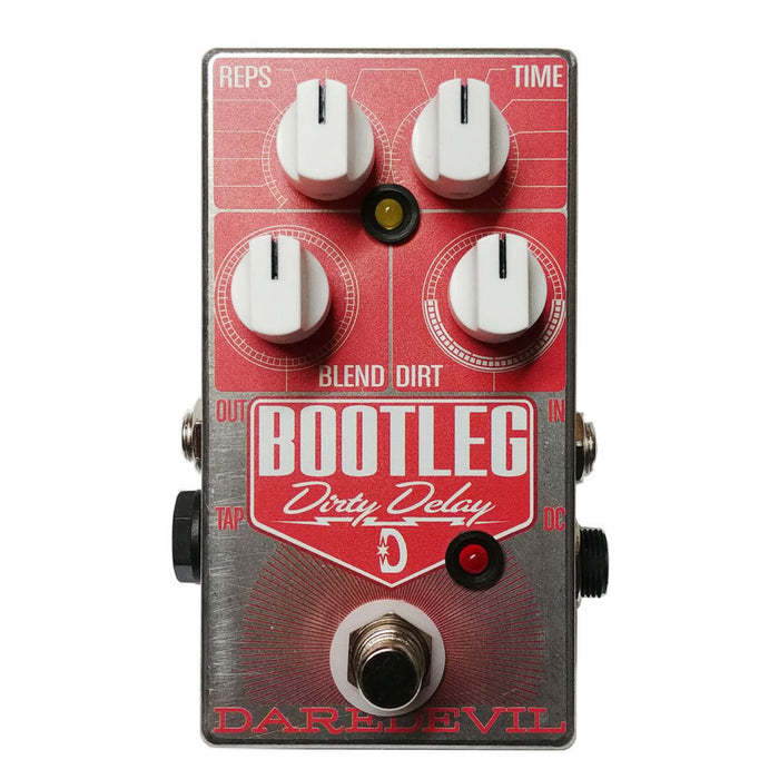 Daredevil Pedals Bootleg Dirty Delay Pedal