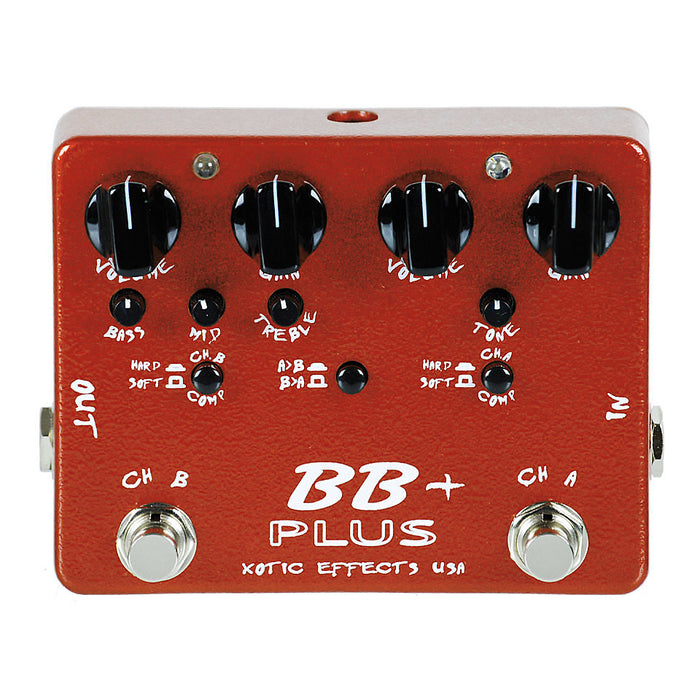 Xotic Effects BB PLUS - Bluesbreaker Overdrive Boost Preamp