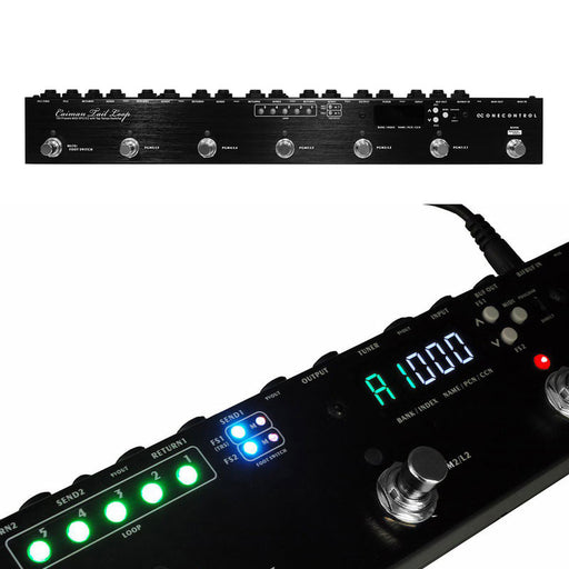 One Control Caiman Tail Loop 5 Loop Programmable Switcher 150 Presets