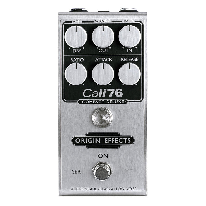 Origin Effects Cali76 Compact Deluxe 1176-Style Studio-Grade FET Compressor Cali76-CD