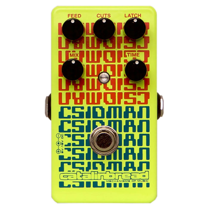 Catalinbread Cdisman Glitch Stutter Delay Pedal