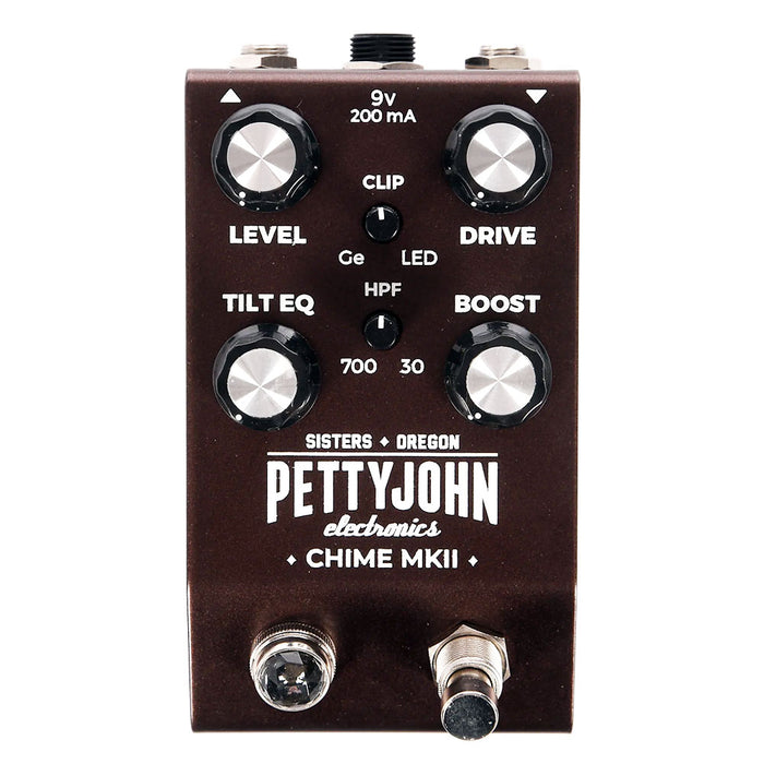 Pettyjohn Electronics Chime MKII Overdrive Pedal