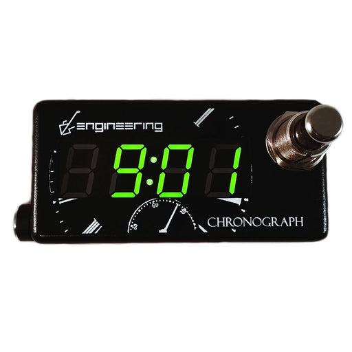DS Engineering Chronograph Pedalboard Clock Timer