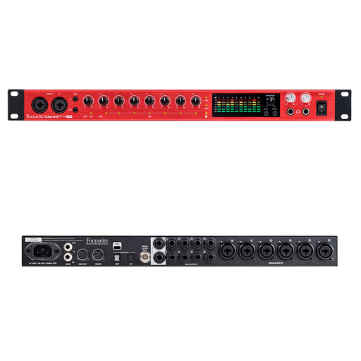Focusrite Clarett 8Pre USB 18-in 20-out Professional Audio Interface