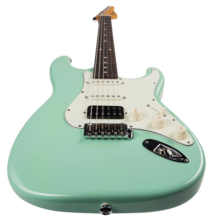 Suhr Classic S HSS Electric Guitar Surf Green Rosewood Neck