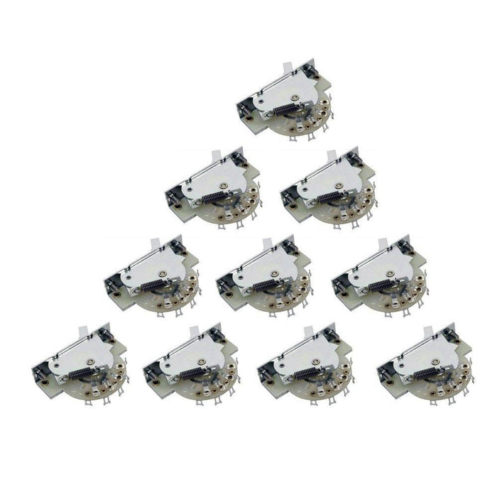 CRL 3-Way Pickup Selector Switch Bulk Pack Of 10 For Strat Tele