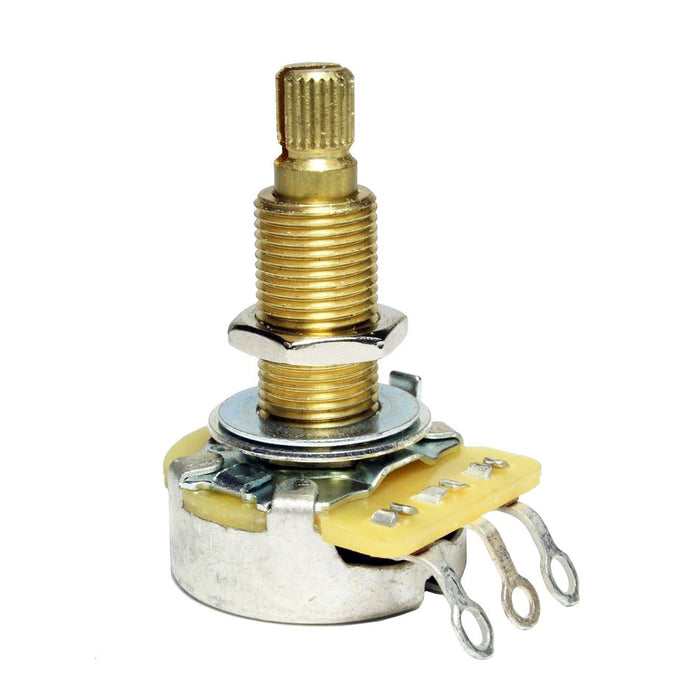 CTS 500k 10% Tolerance TRUE 500k Long Split-Shaft Audio Taper Potentiometer