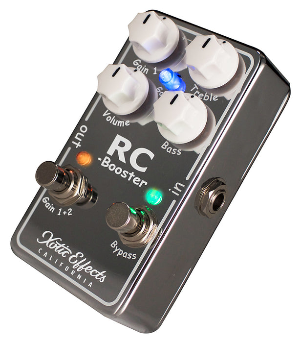 Xotic Effects RC Booster V2 (Version 2) - Ultra Clean Boost RCB-V2