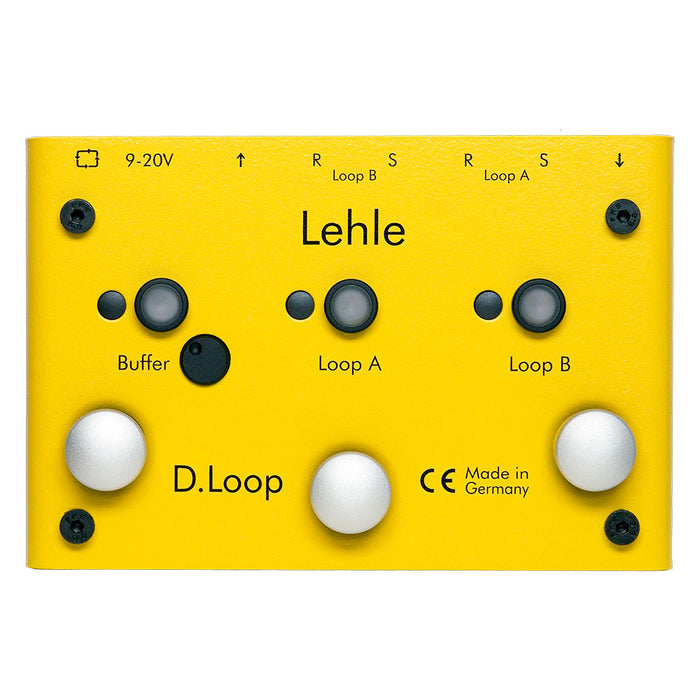 Lehle D.Loop SGoS Programmable Looper Switcher D Loop