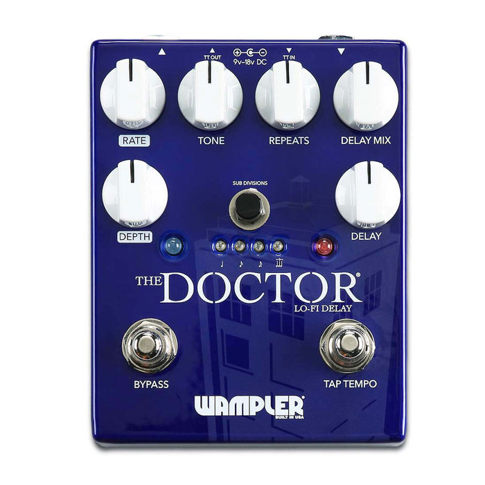 Wampler Pedals The Doctor Lo Fi Ambient Delay
