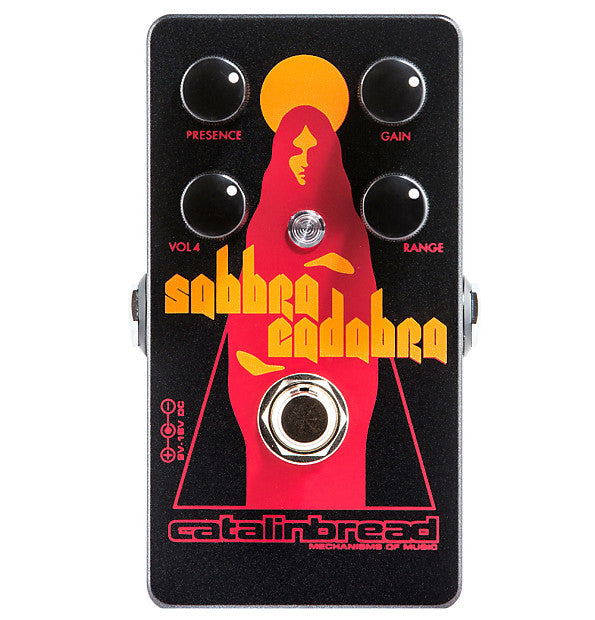 Catalinbread Sabbra Cadabra Tony Iommi Treble Booster