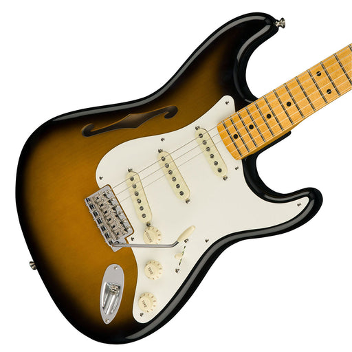 Fender Eric Johnson Signature Stratocaster Sunburst Thinline Electric Guitar
