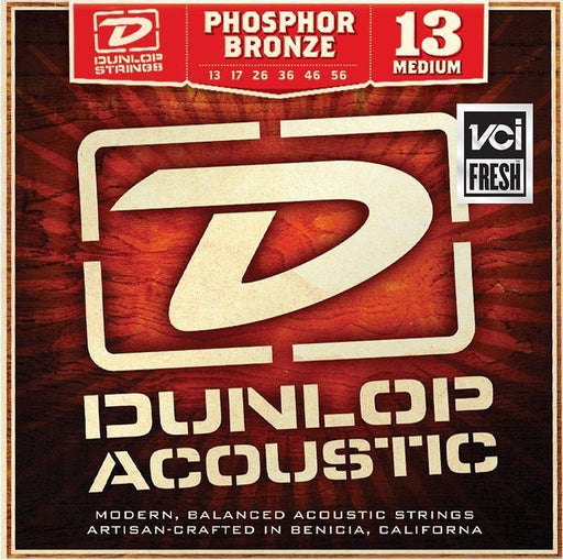 Dunlop Phosphor Bronze Medium Acoustic String Set (13-56 Gauge) 3-PACK - DAP1356