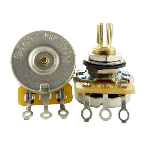 "Emerson Pro CTS 250K Blender Short 3/8"" Split Shaft Potentiometer"