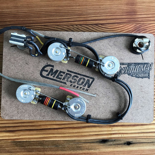 Emerson Custom 335 Prewired Complete Electronics Harness