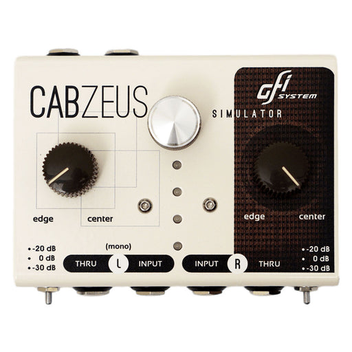 GFI Systems Cabzeus Stereo Speaker Simulator + DI Box