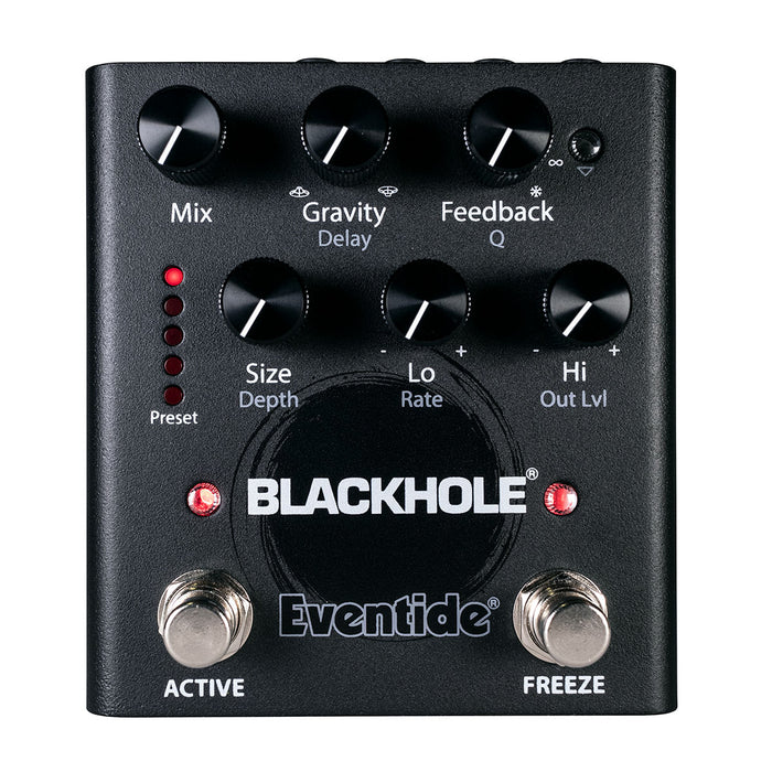 Eventide Blackhole Otherworldly Ambient Reverb Pedal