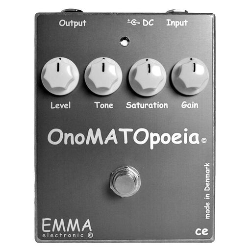 Emma Effects OM-1 OnoMATOpoeia Booster Overdrive Pedal