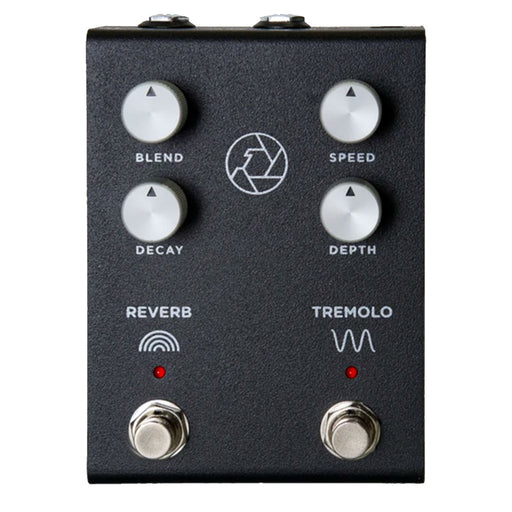 Milkman Sound F-Stop Tube Driven Spring Reverb & Tremolo Black