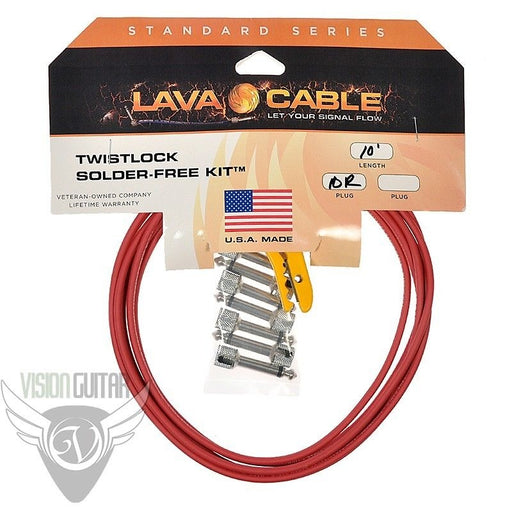 Lava Cable Tightrope V2 Twistlock Solder-Free Pedal Board Kit