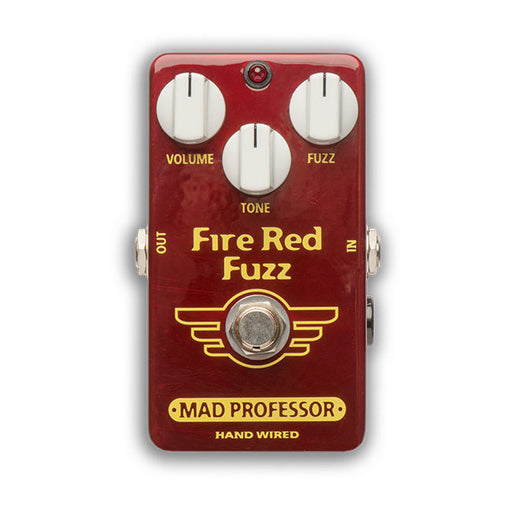 Mad Professor BJF Design Hand-Wired Fire Red Fuzz Pedal