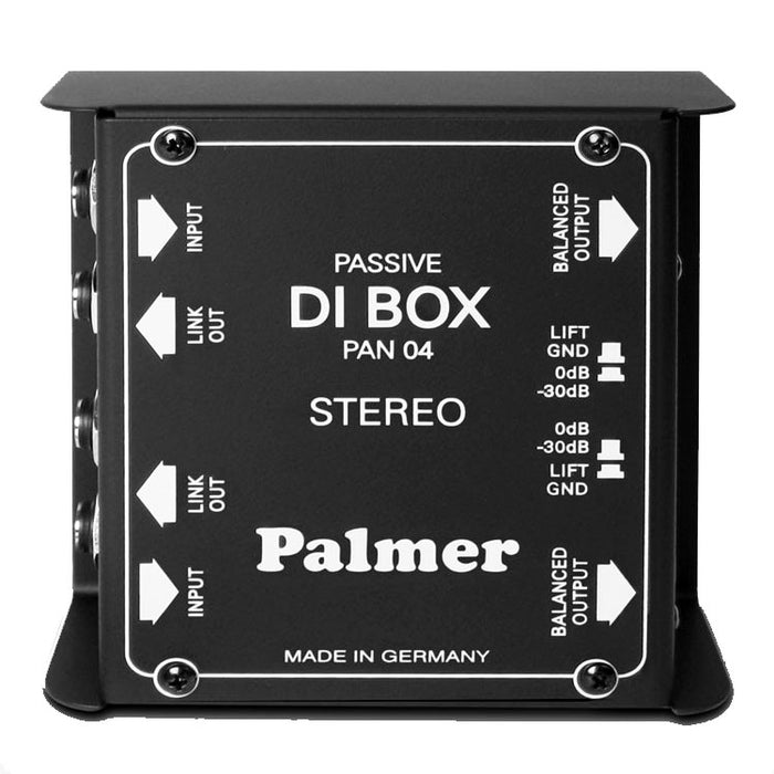 Palmer Audio Tools PAN 04 2-Channel Passive DI Box