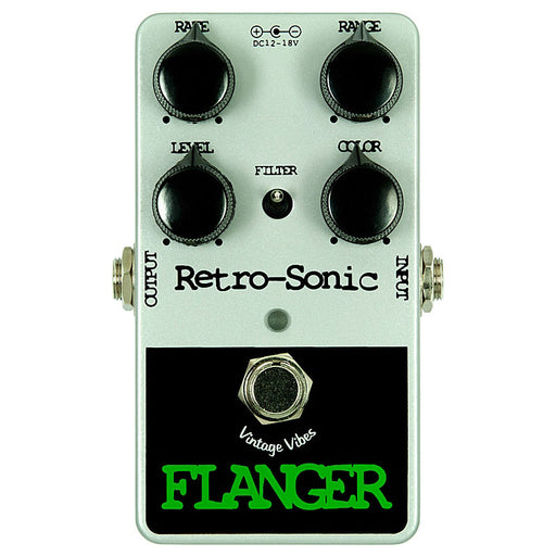 Retro-Sonic Analog BBD Flanger Pedal