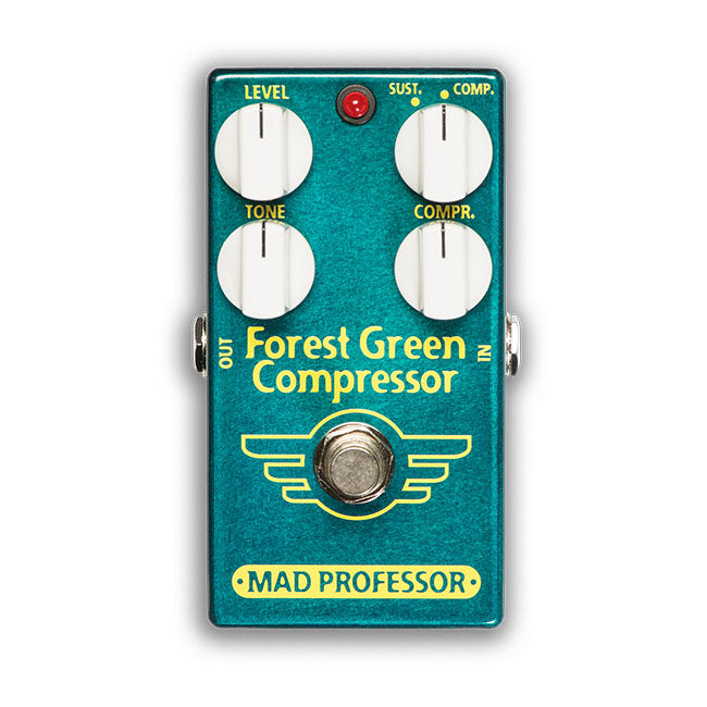 Mad Professor Forest Green Compressor/Sustainer Pedal