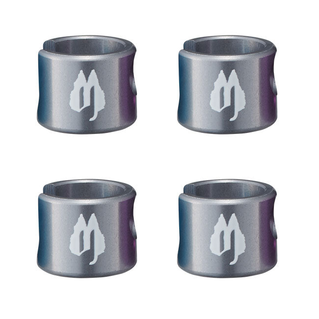 Free The Tone SLC-4AL Replacement Caps for SL-4 Plugs Set of 4 Gun Metal