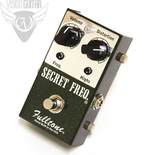 Fulltone Secret Freq - Rich Musical Touch Sensitive Clean Boost Overdrive