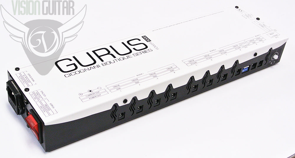 Gurus Amps Power5000 Power Supply - 5000mA Isolated SectionsGurus Power5000