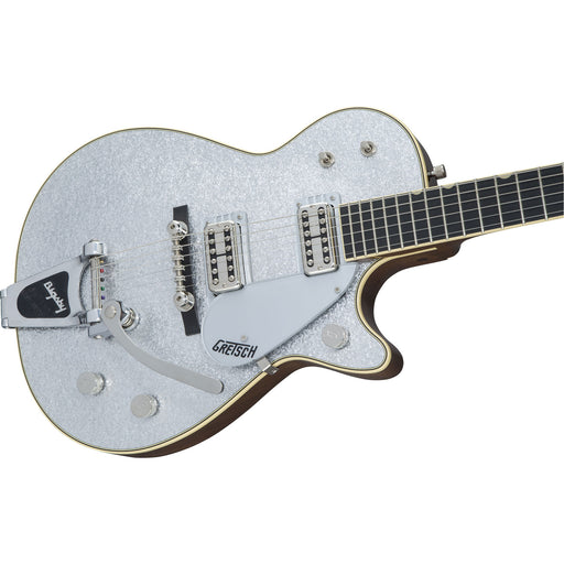 Gretsch G6129T-59 Vintage Select '59 Silver Jet with Bigsby