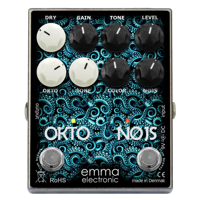 Emma Effects ON-1 Okto-Nøjs Octave Fuzz Pedal