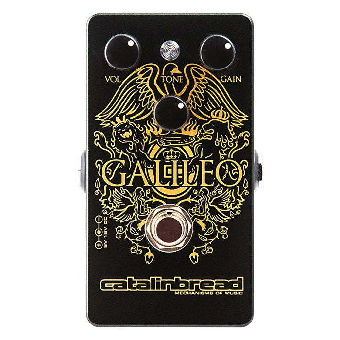 Catalinbread Galileo Treble Booster Queen in a box