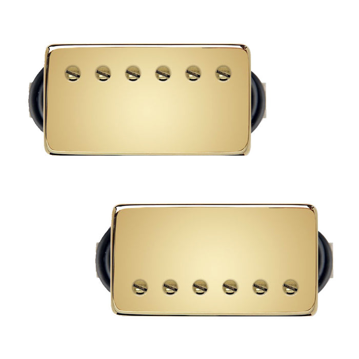 Bare Knuckle The Mule Humbucker Pickup Set 50mm Gold Covers
