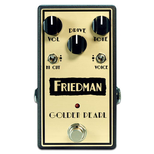 Friedman Golden Pearl Transparent Lower Gain Overdrive Pedal