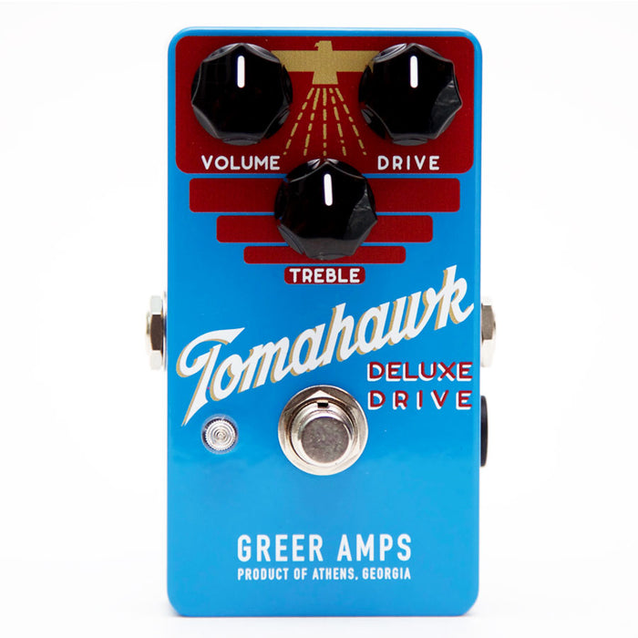 Greer Amps Tomahawk Deluxe Drive Overdrive Pedal