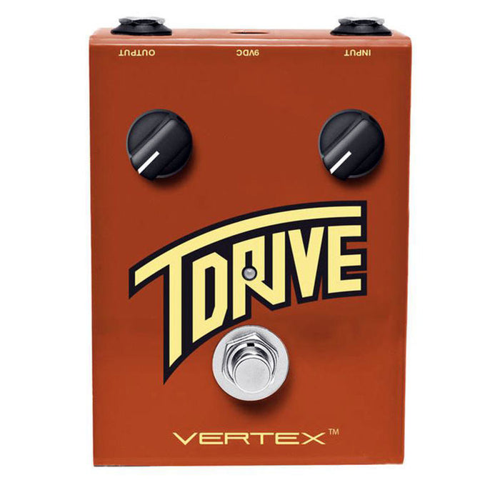 Vertex Effects T-Drive Distortion Overdrive Pedal