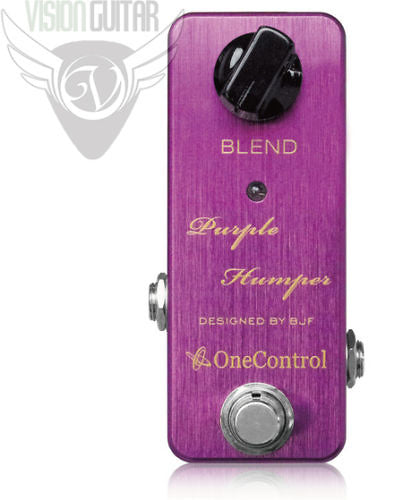 One Control Purple Humper Overdrive Pedal - Designed By BJF