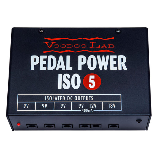 Voodoo Lab Pedal Power ISO-5 Isolated 9 Volt Power Supply