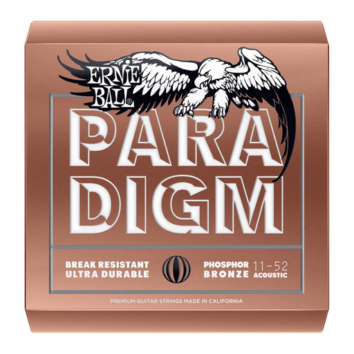 Ernie Ball 2078 Paradigm Light Phosphor Bronze Acoustic Guitar Strings (11-52)