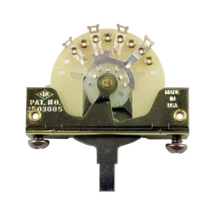 CRL 5-Way Pickup Selector Switch For Stratocaster/Telecaster - Finest Quality!
