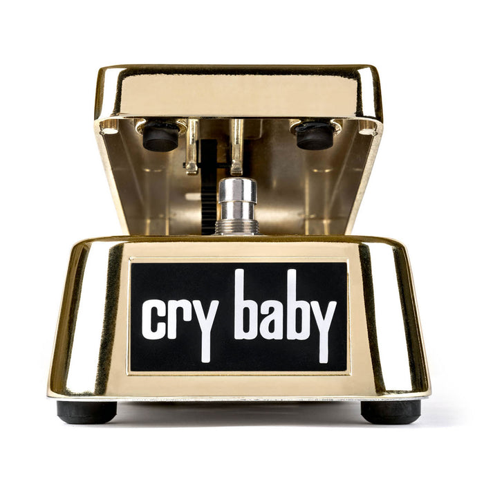 Dunlop GCB95G 50th Anneversary Gold Cry Baby® Wah Pedal