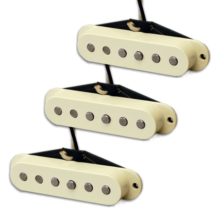 Lindy Fralin Vintage Hot Strat Pickup Set w/Bassplate