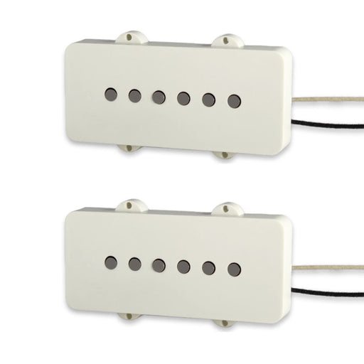Lindy Fralin Hum-Cancelling Jazzmaster Pickup Set Stock Wind White