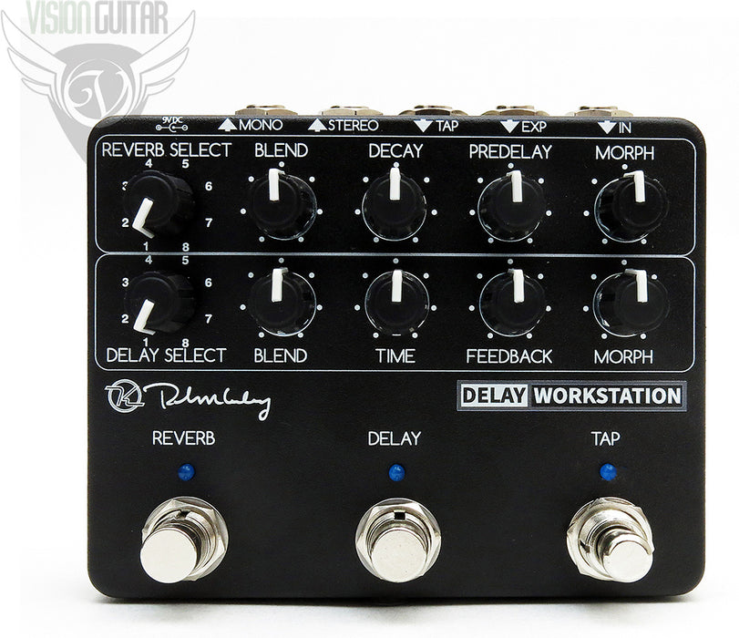 Keeley Delay Workstation - Dual High End DSP Delay/Reverb with Tap!