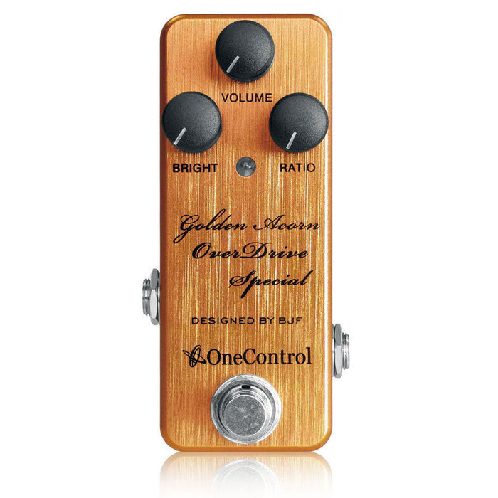 One Control Golden Acorn Overdrive Special - Designed By BJF