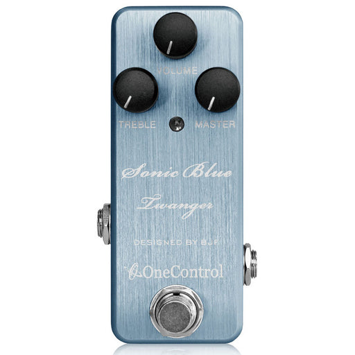 One Control Sonic Blue Twanger Overdrive Pedal - Designed By BJFe